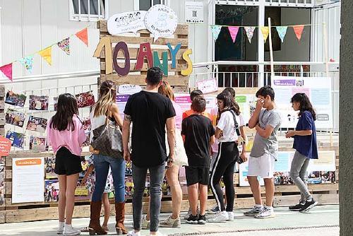 L'Escola Els Aigüerols commemora el seu desè aniversari