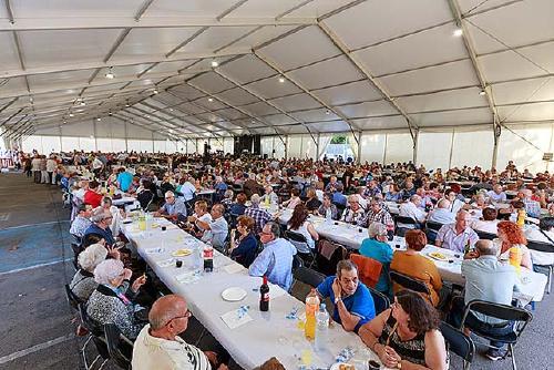 A partir d'avui es poden recollir les invitacions per participar al 80è Homenatge de la Gent Gran