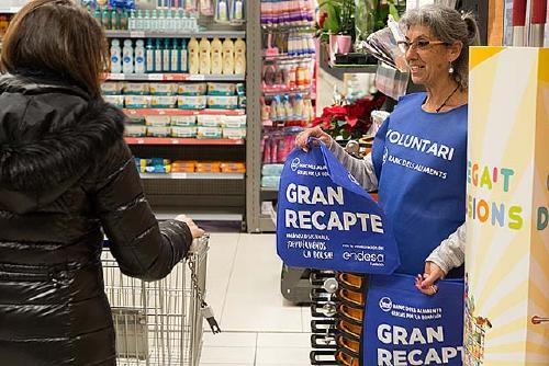 Santa Perpètua recull 20 tones d'aliments al Gran Recapte