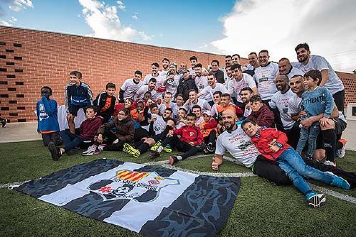 El primer equip de la UCF Santa Perpètua es proclama campió de lliga