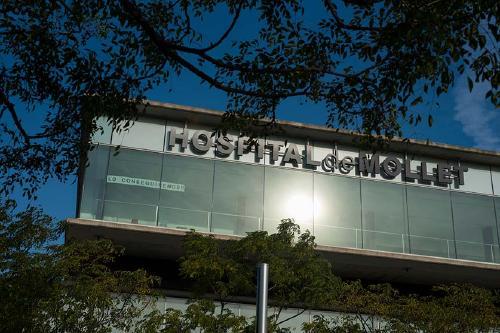 Els ingressos per Covid-19 a l'Hospital de Mollet superen la cinquantena