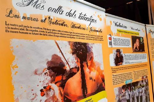 Solidaritat presenta l'exposició ' Més enllà dels tatuatges. Les Maras al Salvador, Hondures i Guatemala'