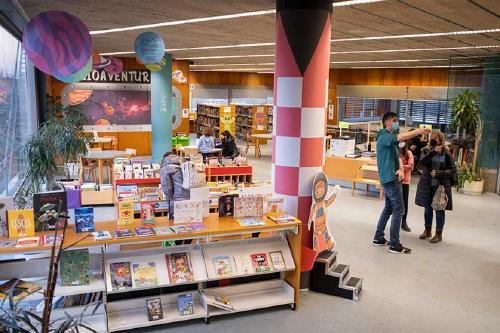 La Biblioteca Municipal Josep Jardí està oberta amb control d'aforament