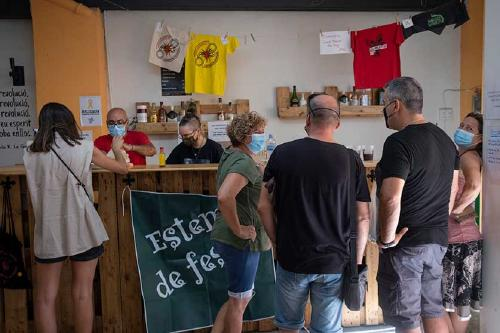 El Casal Popular acull avui una exposició de cartells de la CUP, Arran i Endavant