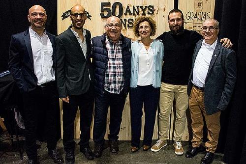 El CN Santa Perpètua va celebrar els 50 anys dissabte amb un sopar