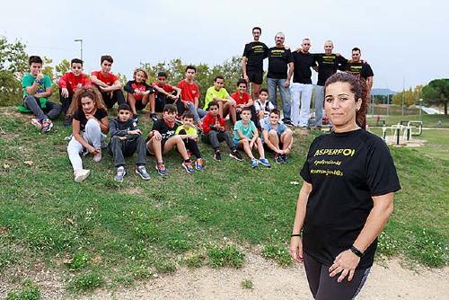 """""""Buscamos la integración de los niños en su entorno mediante el atletismo"""""""