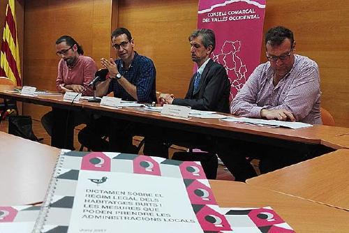 El Consell Comarcal presenta una nova eina per mobilitzar habitatges buits per a usos socials