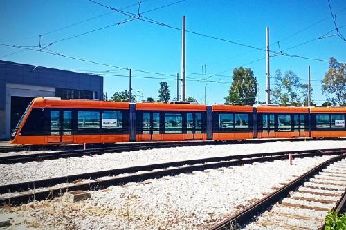 Alstom Santa Perpètua entrega els primers tramvies per al metro d'Atenes