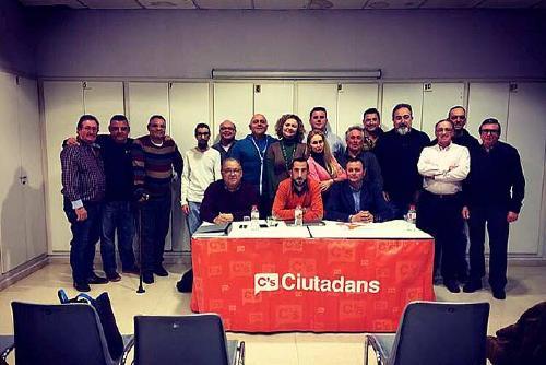 C's acull la trobada anual de delegats de Barcelona-Centre de la formació
