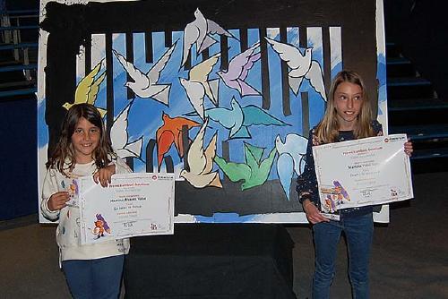 Dues alumnes de l'Escola Tabor guardonades en el Premi Sambori d'Òmnium