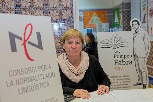 """Esther Paracolls: """"El català ha de ser la llengua d'ús i hem de treballar per a què sigui així"""""""