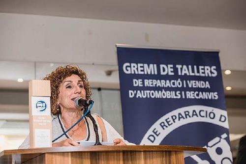 El Gremi de Tallers premia al CREVE per la seva trajectòria en la promoció del vehicle elèctric