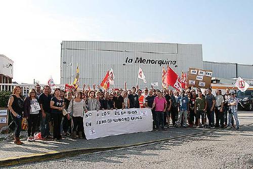Principi d'acord sobre l'ERO a Lacrem-La Menorquina que afectarà 125 treballadors