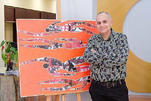 L'artista Rafael Romero inaugura avui l'exposició 'Navigare' a L'Espai 1