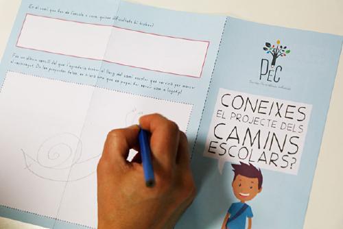 Educació instal·la avui una taula informativa del PEC per donar a conèixer la xarxa de camins escolars
