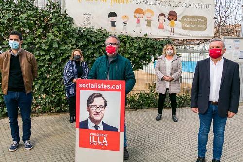 El PSC critica la deixadesa del Govern de la Generalitat en l'àmbit educatiu