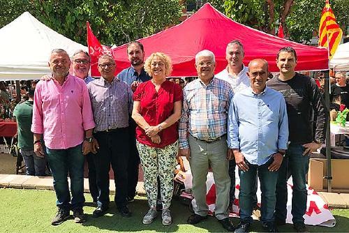 El PSC de Santa Perpètua escull per unanimitat la nova Comissió Executiva que encapçala Manuel Ruiz