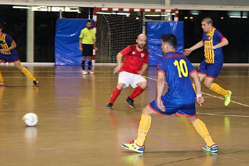 L'Sport Sala cau davant el Roger's Atlètic Català el darrer partit de 2017