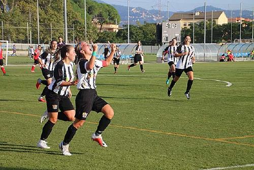 L'equip femení de la UCF Santa Perpètua espera sumar una nova victòria contra el Sant Andreu Atlètic