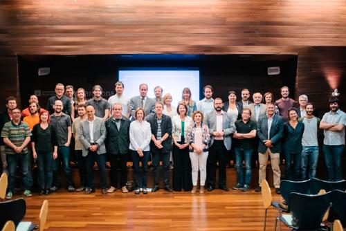 Santa Perpètua participa a l'acte de constitució de la Xarxa de Municipis per l'Economia Social