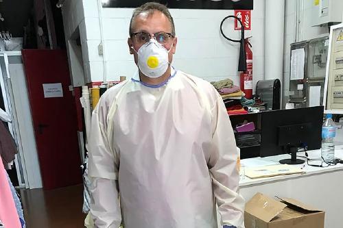 L'empresa perpetuenca Tèxtil Ortiz fabrica teixits per a bates d'alta protecció