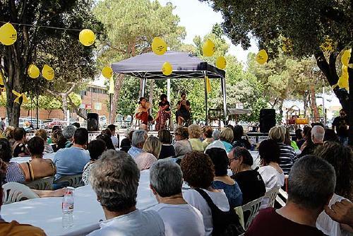 Unes 250 persones participen al dinar de germanor de l''Acte unitari contra la Repressió'