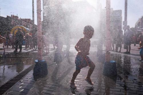 Ciutadans demana instal·lar nebulitzadors d'aigua a Santa Perpètua per combatre la calor