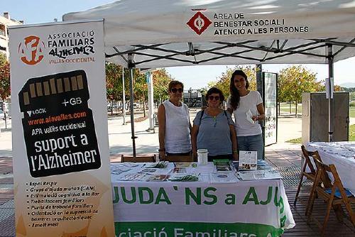 L'Ajuntament i AFA-VO commemoren el Dia Mundial de l'Alzheimer