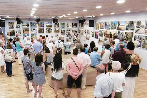 Julio Garcia, Premi d'Honor del XXVII Concurs de pintura d'Amics de Santiga