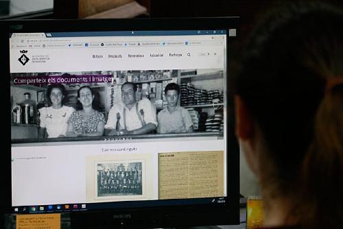 L'Arxiu Municipal presenta el seu nou web coincidint amb el Dia dels Arxius