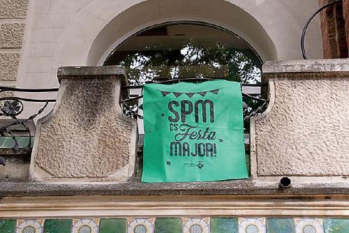 Es recullen 185 euros amb les banderoles solidàries de la Festa Major
