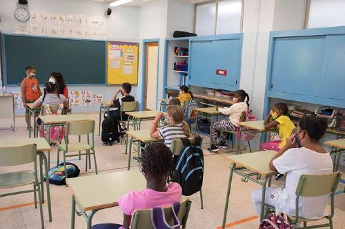 Quatre centres educatius de Primària i Secundària de Santa Perpetua tenen grups confinats
