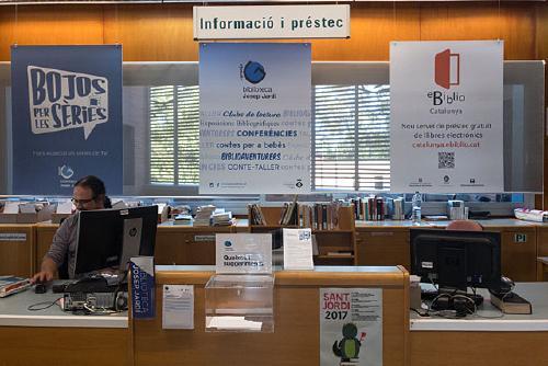 La Biblioteca Municipal programa avui una sessió formativa sobre la plataforma eBiblio Catalunya