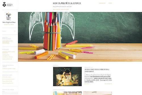 Neix el blog Santa Perpètua educa