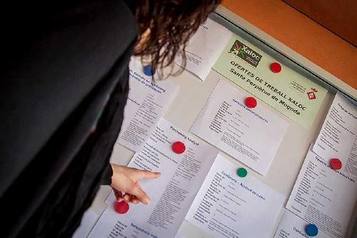 La contractació al municipi es comença a recuperar al mes de maig
