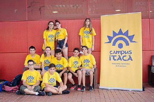 Una desena d'alumnes dels instituts Rovira-Forns i Estela Ibèrica han participat al Campus Ítaca