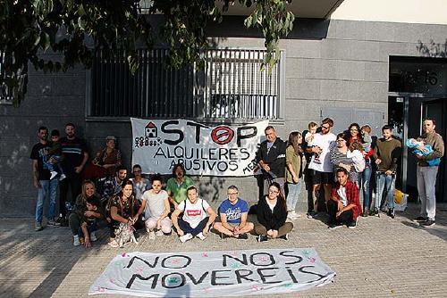 El veïnat de Can Filuà inicia noves protestes per l'augment del lloguer