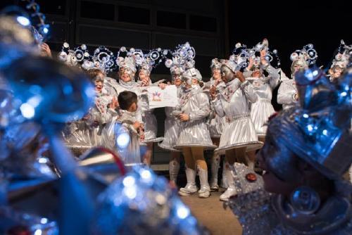 La Rua de Carnaval registra gairebé 400 participants