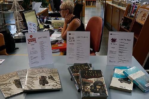 La Biblioteca Municipal tanca avui els clubs de lectura amb l'escriptora Tina Vallès