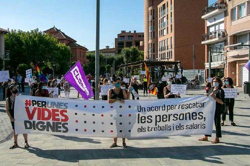 Les treballadores del SAD convoquen vagues parcials en defensa de les seves condicions de treball