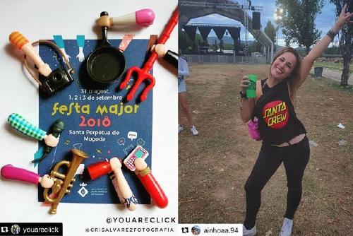 El concurs Instagram de Festa Major de l'Informatiu registra 477 imatges