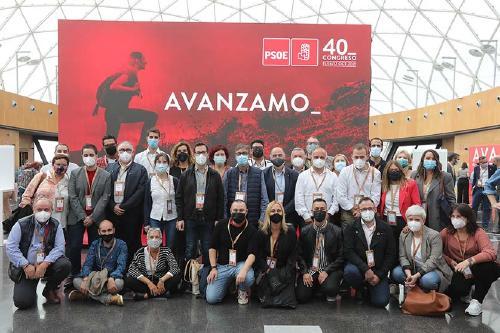 El portaveu del PSC, Pere Garcia, participa al 40è Congrés del PSOE