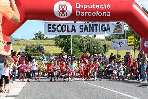 L'AMPA de l'Escola Santiga organitza la Festa de la Natura i el cros