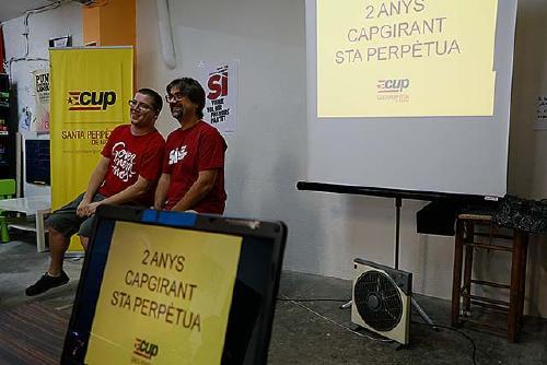 La CUP fa balanç dels dos anys a l'Ajuntament