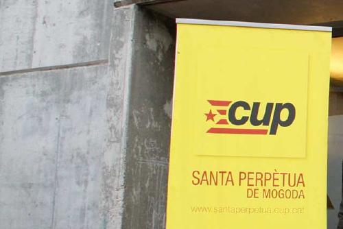 La CUP dona suport al jovent que es mobilitza