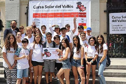 L'Escola Santa Perpètua guanya la tercera Cursa Solar del Vallès