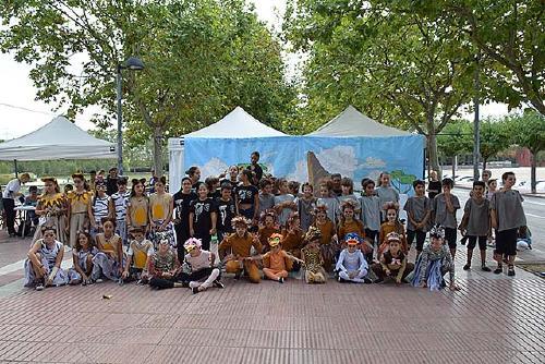 Quatre grups participen a la tercera edició del Festival Infantil de Dansa organitzat pel Ball de Gitanes