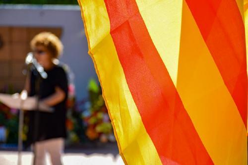 L'Ajuntament celebra la Diada Nacional en format reduït a causa de la pandèmia