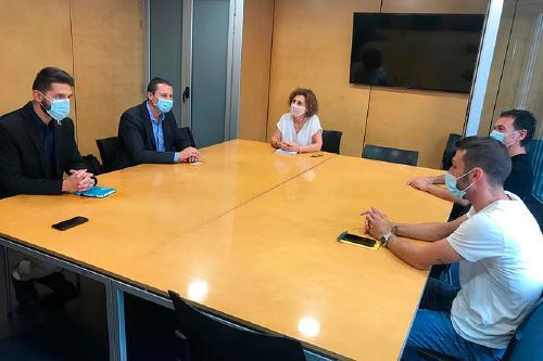 L'Ajuntament es reuneix amb el nou director general de CASSA