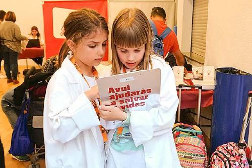 Alumnat de tres centres educatius de Santa Perpètua s'impliquen en les campanyes de donacions del Banc de Sang